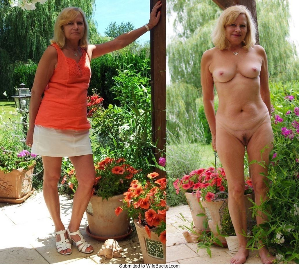 in patterned pantyhose gladys